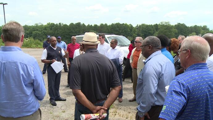 Augusta leaders tour South Augusta to see potential development opportunities