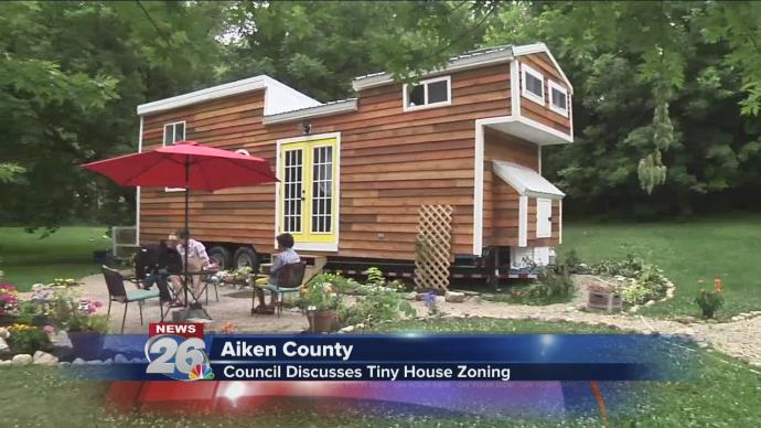 Interest in tiny homes growing in Aiken County