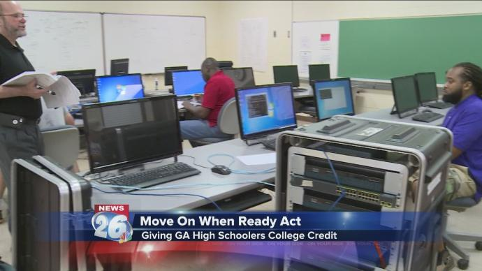 GA bill helping more students get a jump-start on college