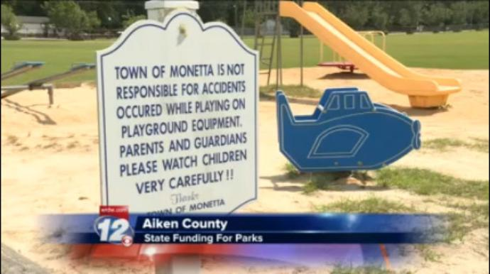 Aiken County Legislatures looking to give money to small town parks