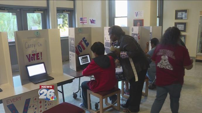 School using new seal to show students the importance of voting
