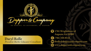 Dapper & Company Business Cards